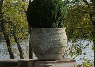 Stort planteringskarl for publika planteringar fran Cadabra