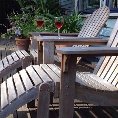 Adirondack stol för uteplatsen från Cadabra