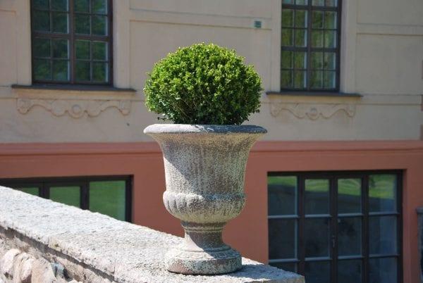 Vaso Coppa frosttålig urna på fot från Cadabra