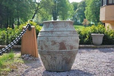 stor urna knossos robust planteringskarl och utekruka Cadabra