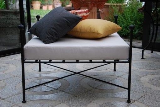 Ottoman Cadabra smidesmöbler lounge uteplats