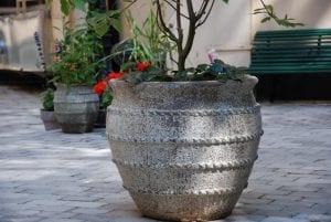 Colosseo stora krukor betongkrukor och kärl för trädgården
