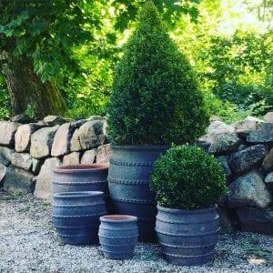 Planteringskärl Colosseo Fired Earth grupp frosttåliga utekrukor och utomhuskrukor