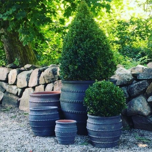 planteringskarl colosseo fired earth frosttaliga utekrukor och utomhuskrukor