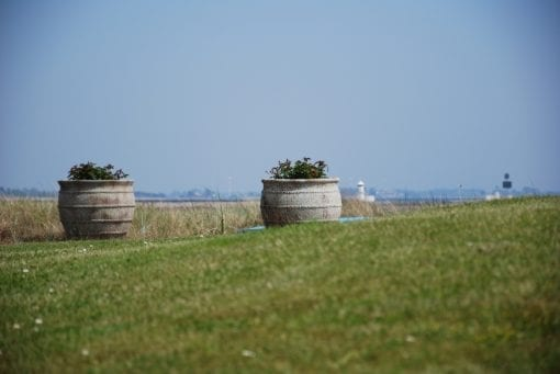 utekrukor colosseo stora frosttaliga krukor urnor planteringskarl betongkrukor