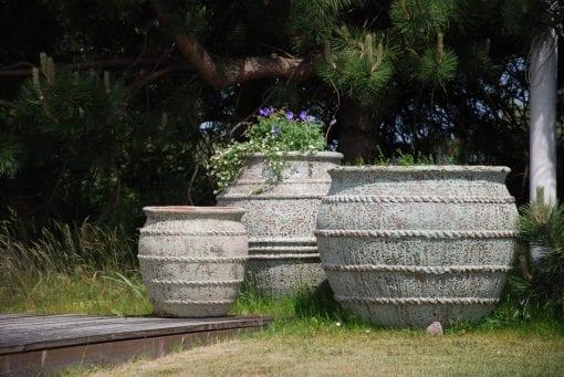 Colosseo stora frosttåliga krukor och planterngskärl