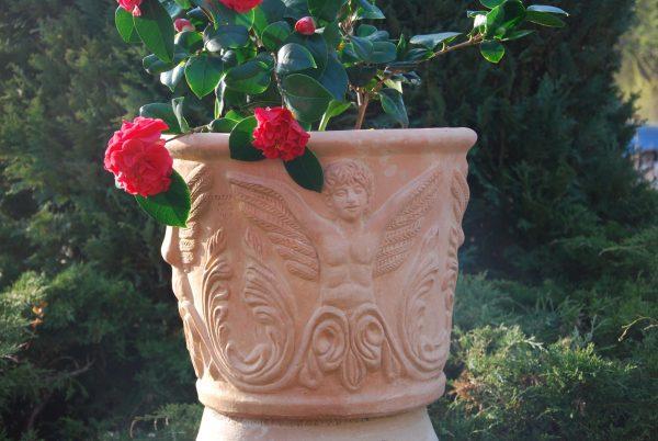 Angeli handgjorda terrakottakrukor från Toscana och Cadabra