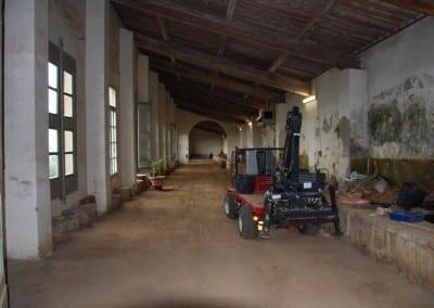 orangerier stora terrakottakrukor toscana