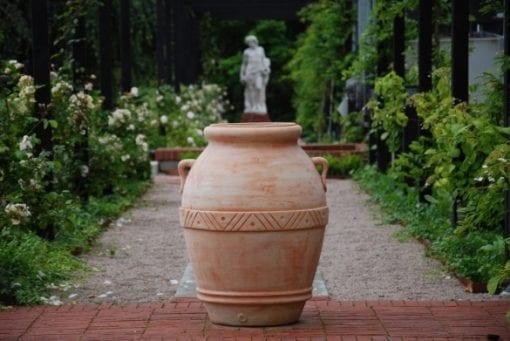 orcio toscano urna trädgårdsdesign