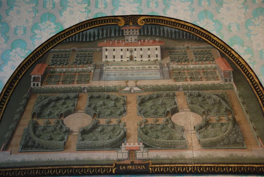 Medelhavsträdgård terrakottakrukor