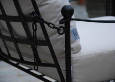 Orangeri miljö med Italienska smidesmöbler