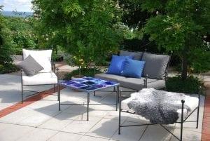 Smidesmöbler Italienska Cadabra Kiviks Hotel utemöbler