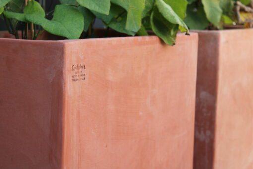 Stora utekrukor modul italiensk frosttålig terracotta logo