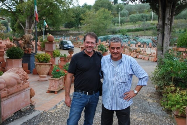 Dan Andersson och Franco Mariani
