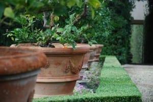 Handgjorda Inpruneta terrakottakrukor från Toscana och Italien
