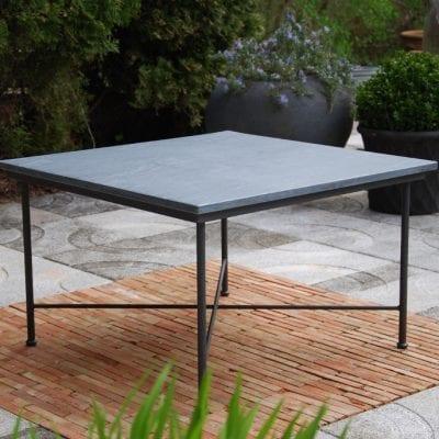 utemöbler smidesbord stenskiva carduso smidesmöbler loungemöbler