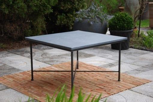 smidesbord utemöbler stenskiva carduso smidesmöbler loungemöbler