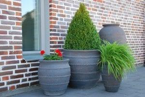 Vaso Colosseo stora planteringskärl och krukor ute gardendesign interiordesign trädgårdsdesign