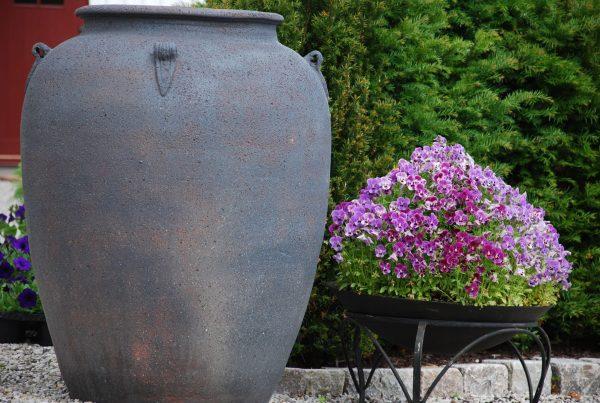 Vaso Emporia frosttåliga stora urnor, planteringskärl och krukor