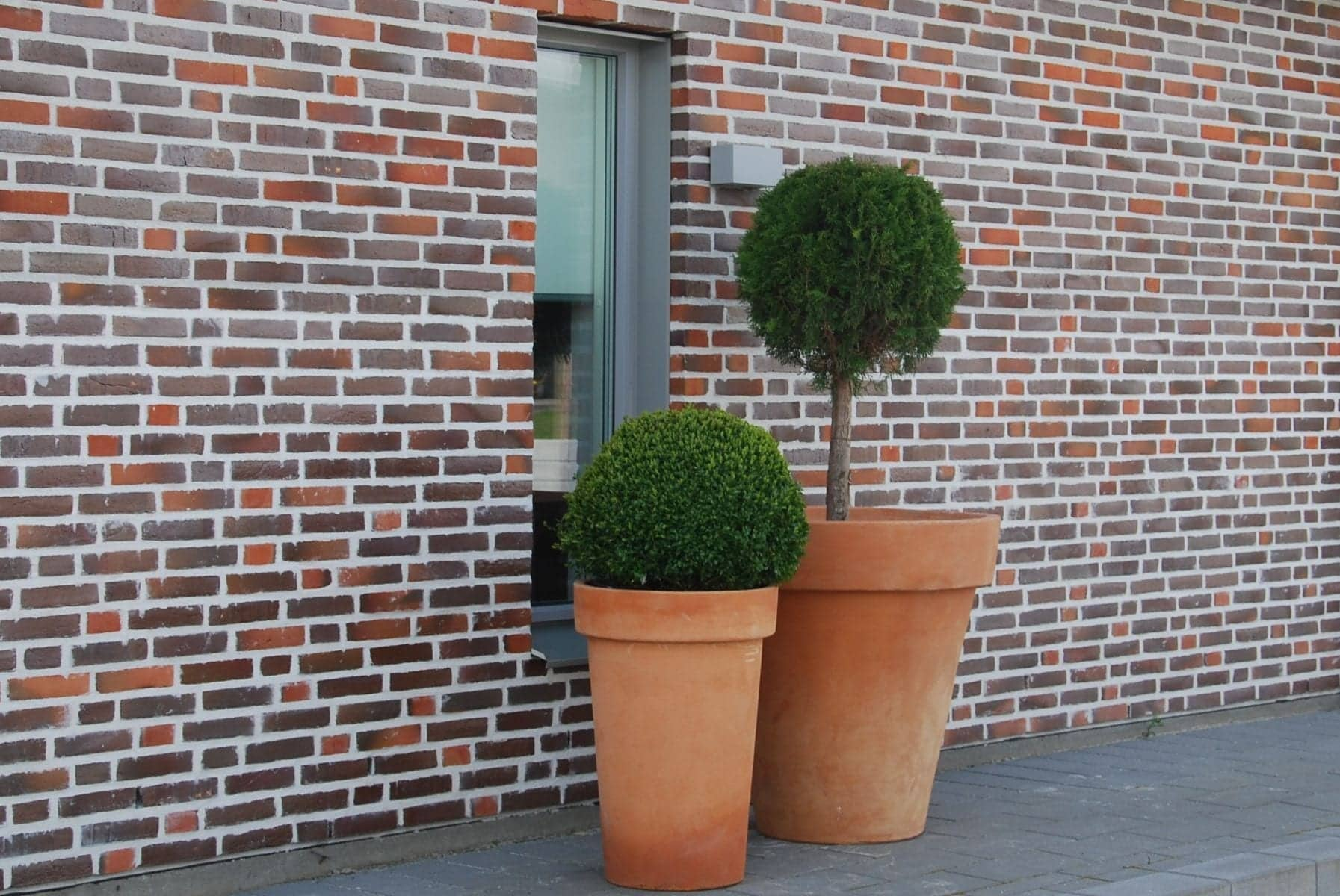 Vaso Liscio Bordo stora Italienska utekrukor Cadabra Design