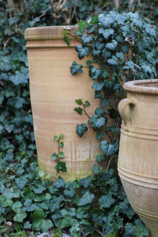 Hög kruka - Vespa handdrejad terrakottakruka från Kreta och Cadabra