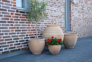 Rigatos terrakottakrukor, urnor och utekrukor ifrån Kreta