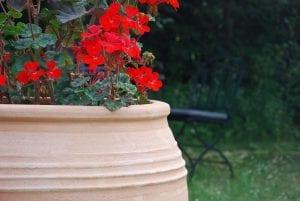 Taras stora handdrejade krukor och urnor ifrån Kreta