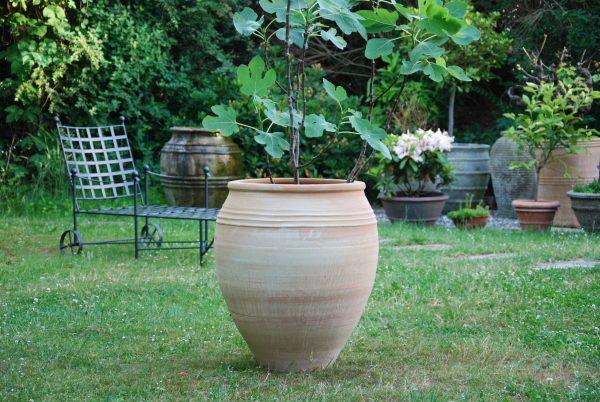 Taras stora planteringskärl, krukor och urnor från Kreta