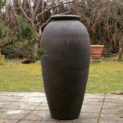 hög urna olivo gigante stora frosttåliga cadabra krukor interior design