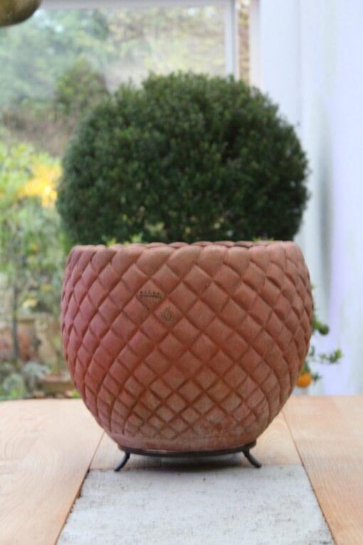 Skål terracotta Cachepot Bugnato Impruneta Italien
