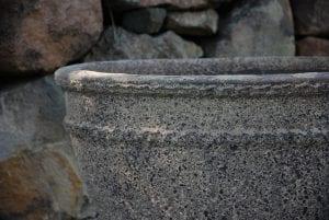 Vaso Colosseo Wide closeup frosttåliga planteringskärl och utekrukor