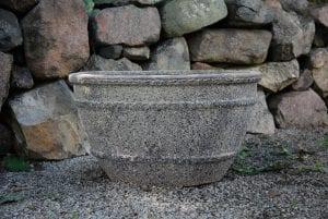 Vaso Colosseo Wide frosttåliga planteringskärl och utekrukor krukor urnor