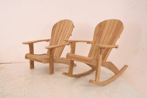 adirondackstol som gungstol versus vanlig adirondackstol
