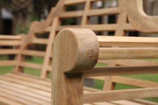 trädgårdssoffor i teak sir edwin lutyens engelsk design soffor loungemöbler utemöbler