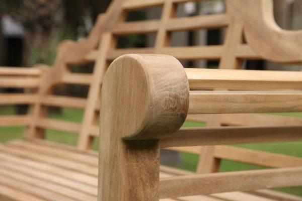 Teakmöbler Lutyens soffor loungemöbler för trädgården utemöbler