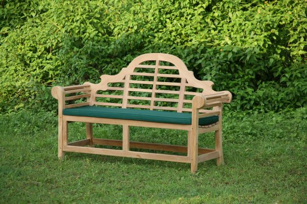 utemöbler teakmöbler Lutyens soffor loungemöbler för trädgården med dyna