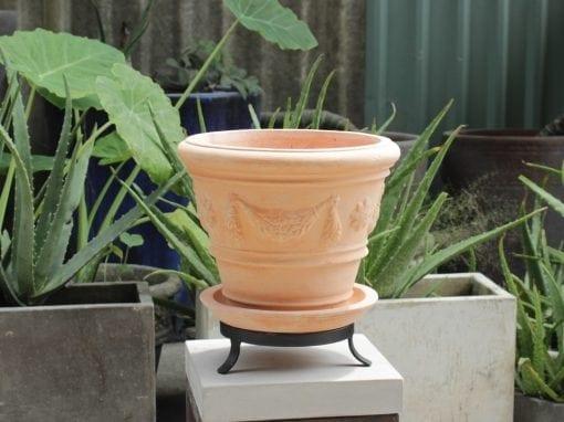terrakottakruka festonato piccolo terracotta