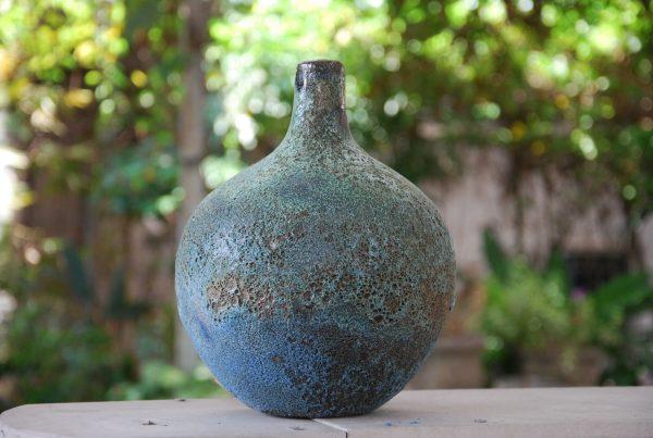 Vaser Stengods Turquoise