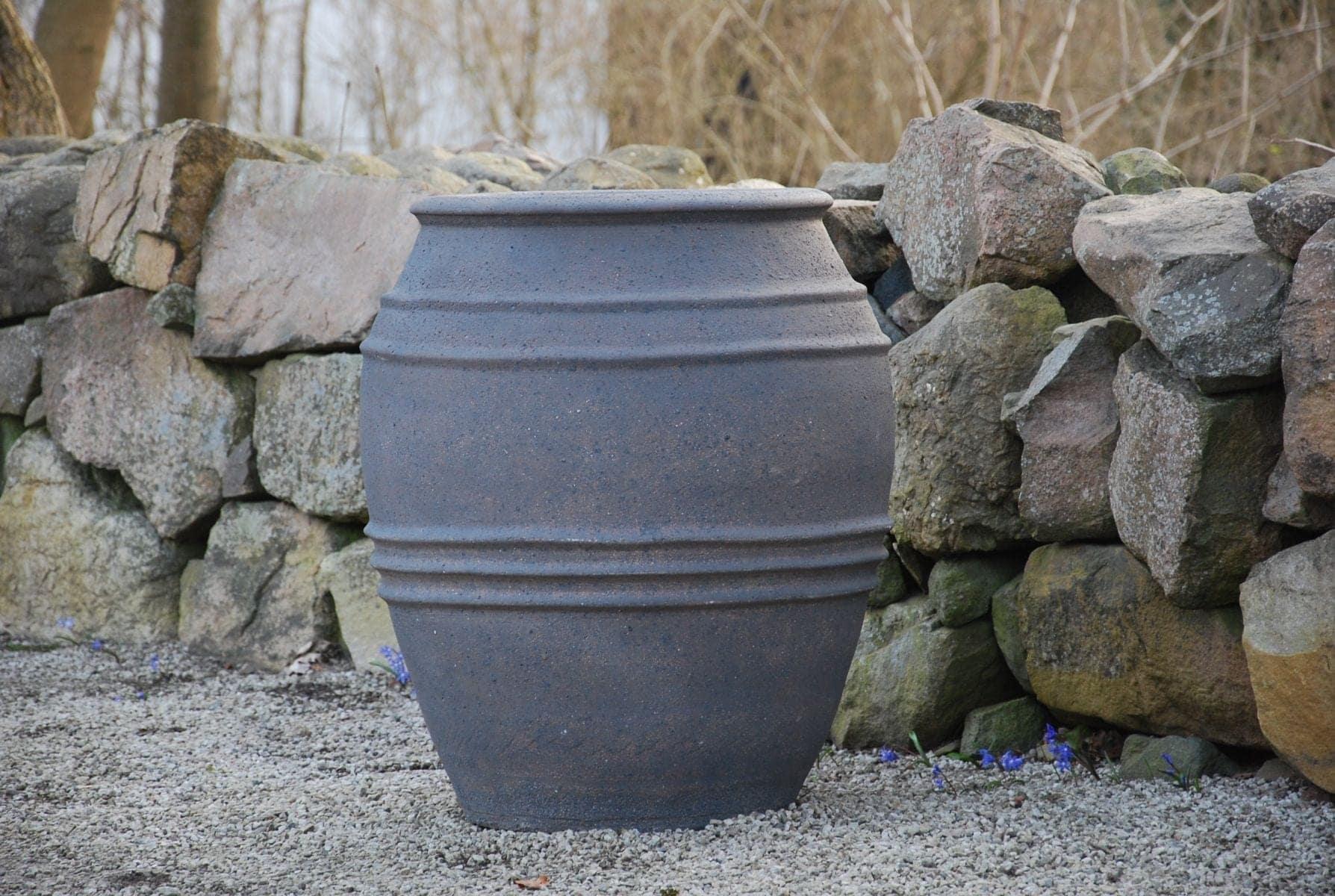 planteringskärl knossos frosttåliga utekrukor och urnor för trädgård interior design