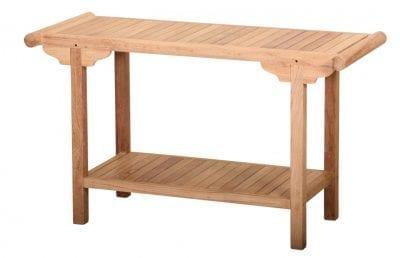 Trädgårdsmöbler Lutyens bord Engelsk design i teakträdgårdsmöbel