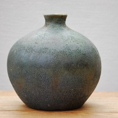 krus tellus i stengods interior design vaser blå gröna