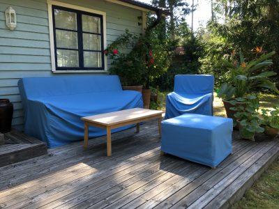 Utemöbler Överdrag - Raffles Loungemöbler Teak